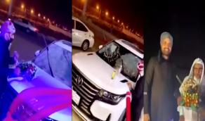 بالفيديو.. عائلة بجازان تهدي والدهم سيارة جديدة بمناسبة شفائه من كورونا