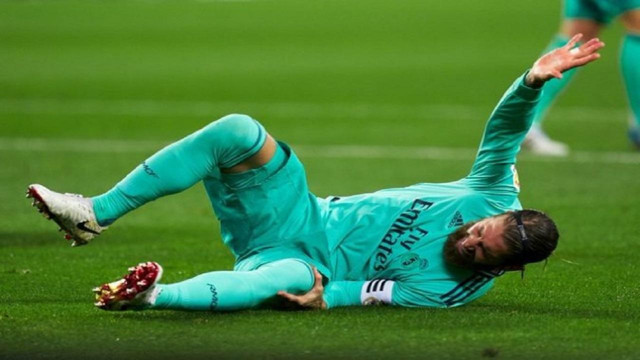 """ضربة موجعه لريال مدريد بعد إصابة """" راموس """" الخطيرة"""