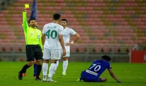 """""""ماجد الشمراني"""" يقود مباراة النصر والوحدة"""