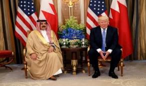 ترامب يمنح ملك البحرين وسام الاستحقاق بدرجة قائد أعلى