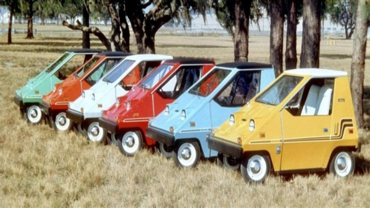 بالصور.. أنواع سيارات غريبة عرفها العالم