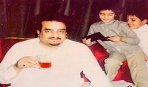 صورة عفوية نادرة للملك فهد