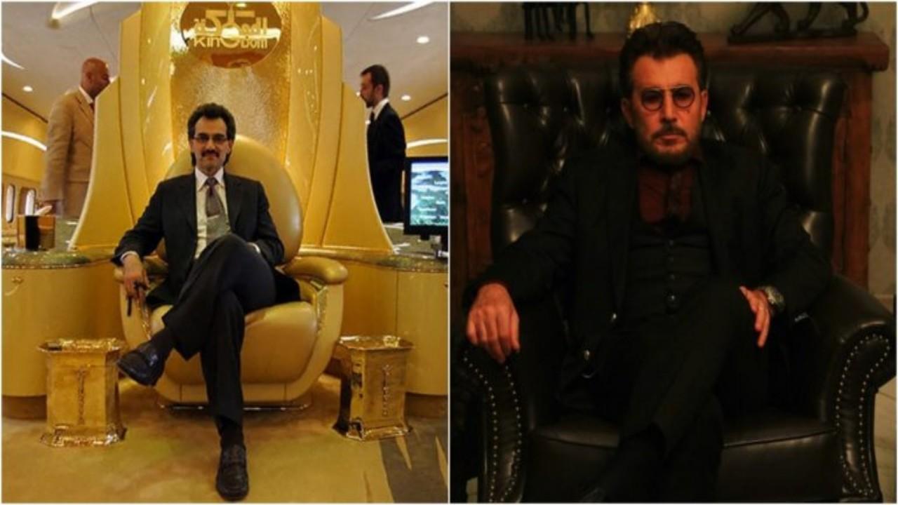 عابد فهد يشبه الأمير الوليد بن طلال في ظهوره الأخير (صورة)