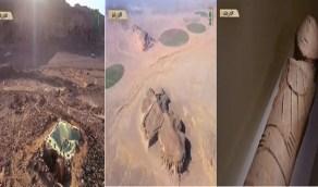 بالفيديو.. اكتشاف منطقة تاريخية بالمملكة تعود لـ10 آلاف سنة قبل الميلاد