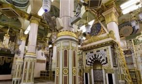 بالصور.. محاريب المسجد النبوي تُبهر الزائرين بجمال نقوشها وزخرفتها