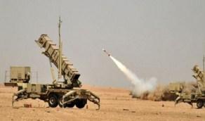 الدفاعات الجوية تتصدى لصاروخ حوثي