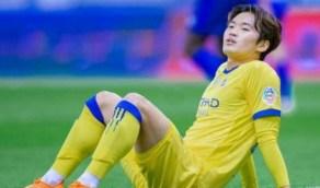 النصر يغدر بالكوري كيم سو بعد الإصابة الخطيرة