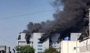 شاهد.. حريق في أكبر مصنع لقاحات في العالم