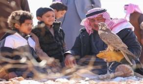 شاهد.. صور لافتة للأنظار تجمع الأمير مقرن بن عبدالعزيز وأحفاده في المقناص