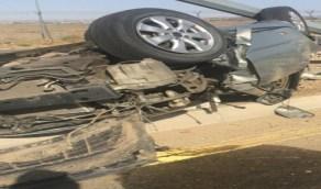 شاب ينجو من موت محقق بعد فقدان السيطرة على مركبته بمكة