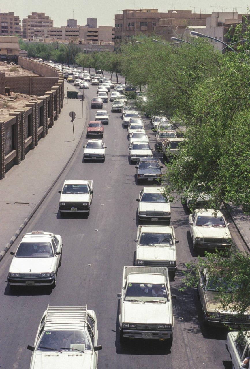 شارع الوزير في التسعينات الميلادية