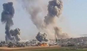 قصف إسرائيلي على حماة السورية بعد أيام قليلة من تولي بايدن