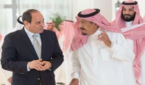 مصر تجدد دعمها للمملكة في كافة إجراءات الدفاع عن أراضيها