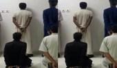 بالفيديو.. القبض على 7 مواطنين ومقيم باكستاني لسرقتهم المركبات بالرياض