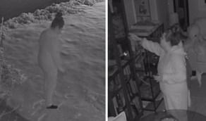زوج يكتشف تصرفات جنونية ترتكبها زوجته أثناء نومها