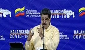 بالفيديو.. رئيس فنزويلا يكشف عن قطرات تقتل كورونا