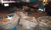 لجنة مكافحة التبغ تضبط 900 كيلو من التمباك والخلطات الضارة بالرياض
