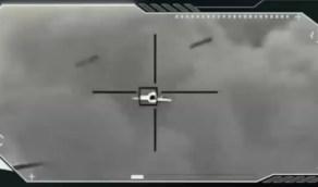 بالفيديو.. آلية اعتراض الطائرات المسيرة التي أطلقها الحوثيون نحو المملكة