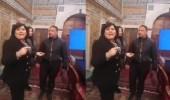 بالفيديو.. نائب يعتدي على زميلته تحت قبة البرلمان