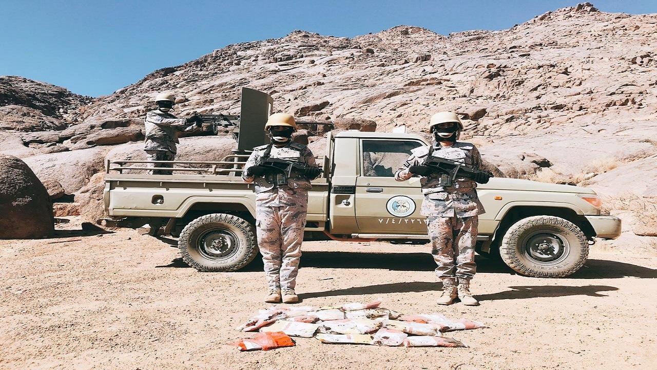 بالفيديو والصور.. قوات حرس الحدود تحبط محاولات تهريب أكثر من 34 طن مخدرات وحشيش