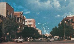 منظر قديم من مدينة الطائف