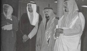 حفل تخريج دفعة من ضباط الأركان بالرياض 1392 هــ