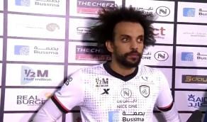 بالفيديو.. مارتينز: لعبنا بروح قتالية.. وكنت أتمنى تسجيل هدف الفوز
