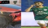بالصورة.. نجاه محمد الكويكبي من حادث مروري