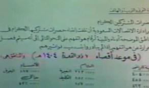 فيديو نادر..الاتصالات تحذر المشتركين المتأخرين في السداد بفصل الحرارة قبل 38 عاماً