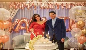 بالصور.. أحدث ظهور لياسمين صبري أثناء احتفالها بعيد ميلادها مع زوجها