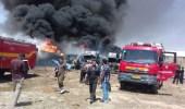 انفجار هائل في مدينة بجنورد الإيرانية