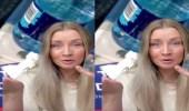 """بالفيديو.. مضيفة طيران تحذر من المشروبات التي تقدم خلال الرحلات: """"مثيرة للاشمئزاز"""""""
