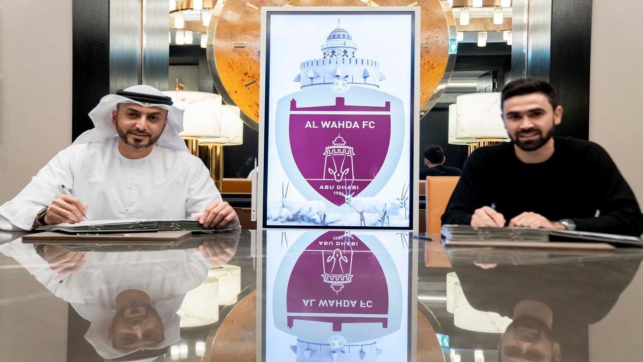 """""""عمر خريبين"""" يتعاقد رسمياً مع الوحدة الإماراتي"""