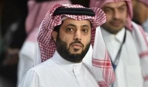 تركي آل الشيخ يتلقى الجرعة الثانية من لقاح كورونا