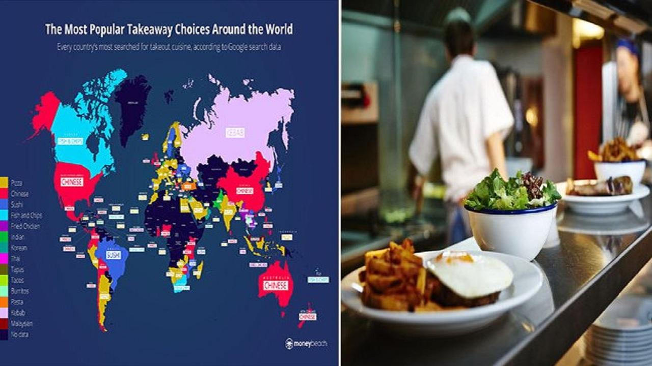 تعرف على أكثر المأكولات طلبًا في دول العالم