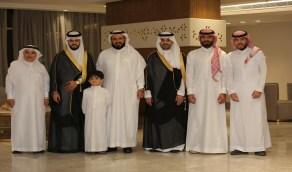 أسرة آل شلاش يحتفلون بزواج أسامة وأنس