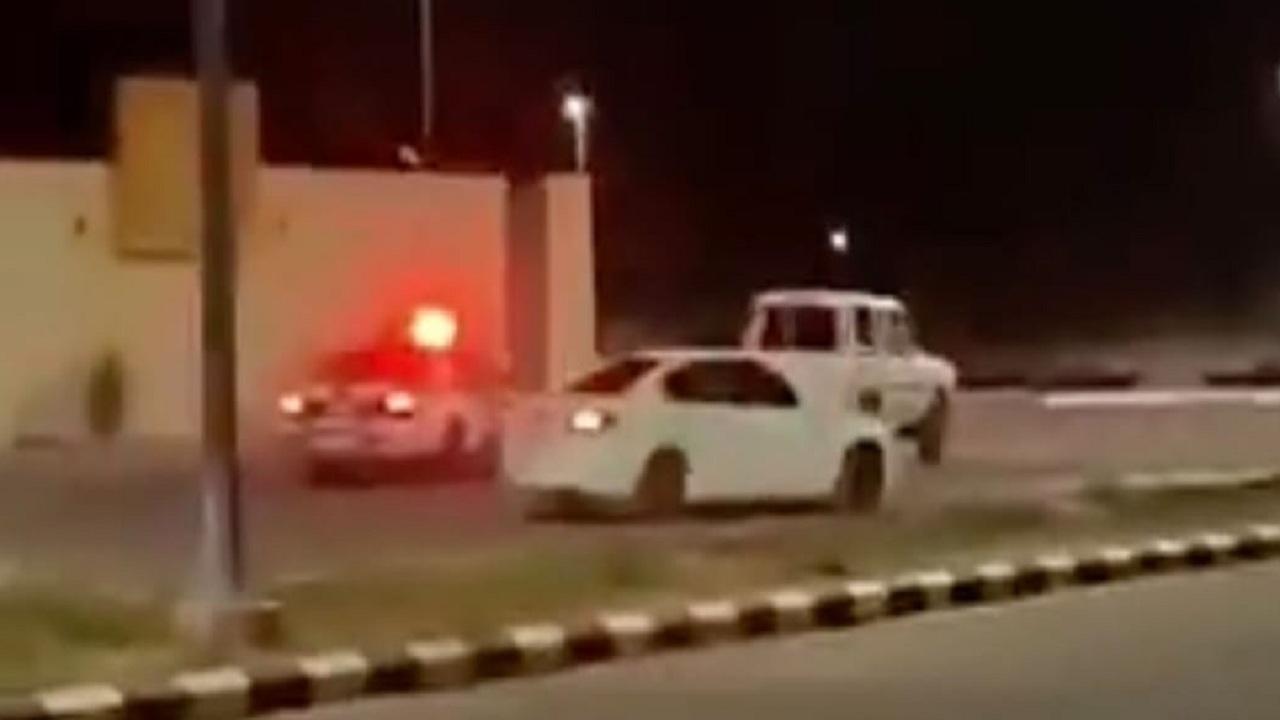 بالصور.. الإطاحة بقائد مركبة لممارساته التفحيط في حائل