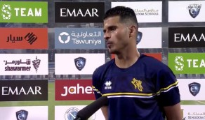 """بالفيديو..لاعب التعاون """"نواف الصبحي"""": الدوري لازال طويل وأمامنا فرصة"""