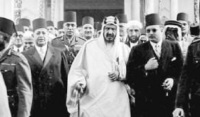 تفاصيل الرحلة التاريخية للملك عبدالعزيز وأبناءه إلى مصر قبل 75 عاما