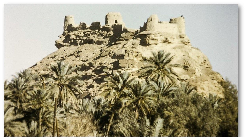 صورة نادرة للقلعة زعبل في الجوف منذ 46 عام