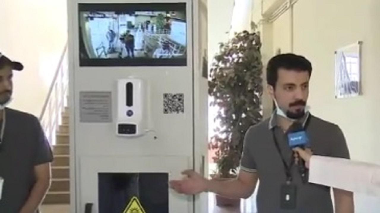 بالفيديو.. مهندسون في المملكة يبتكرون جهازًا لفحص كورونا بشكل إلكتروني