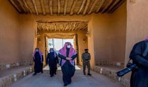 بالصور.. حقائق تاريخية عن قصر الملك عبدالعزيز في قرية لينه