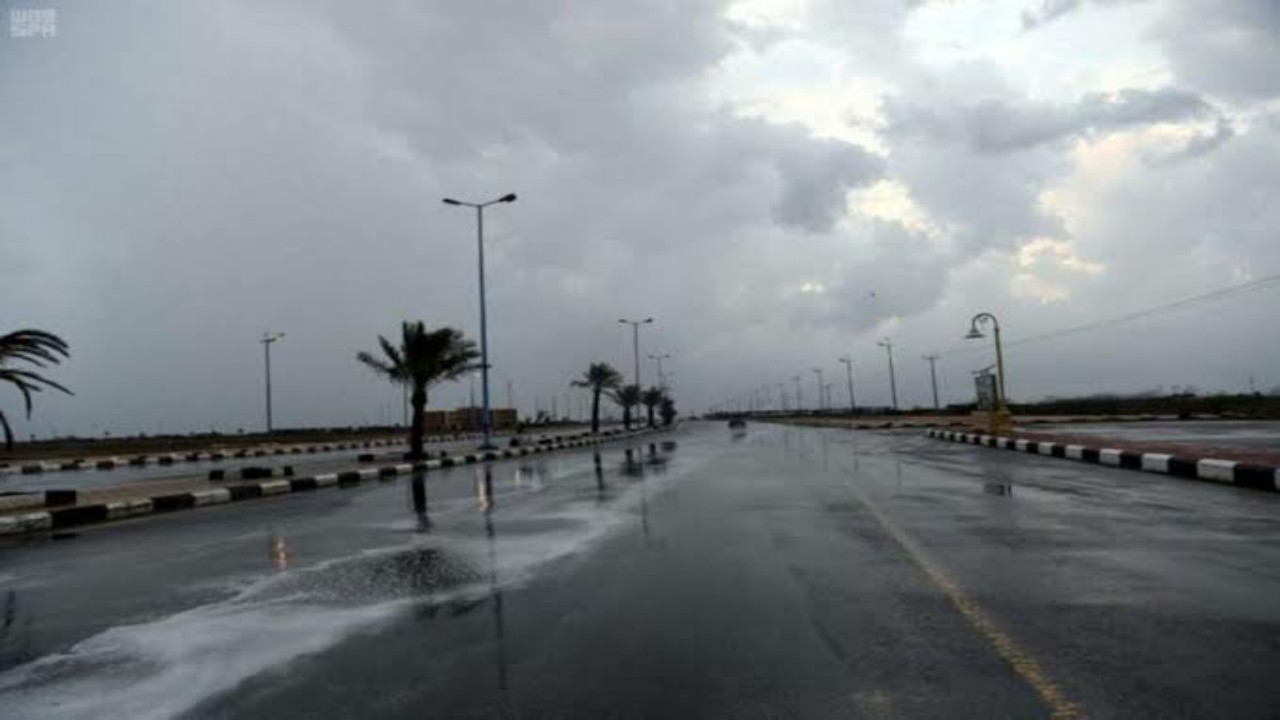 الحصيني: مناطق تشهد ذروة الحالة المطرية