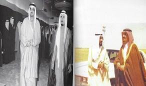 صورتان نادرتان بينهما عشرين عام للملك فهد والشيخ جابر الصباح