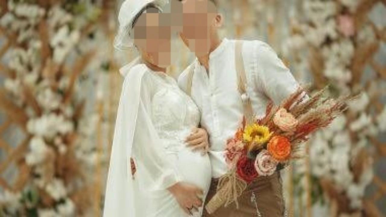 بالصور.. عروس حامل تثير جدلا واسعا في مصر