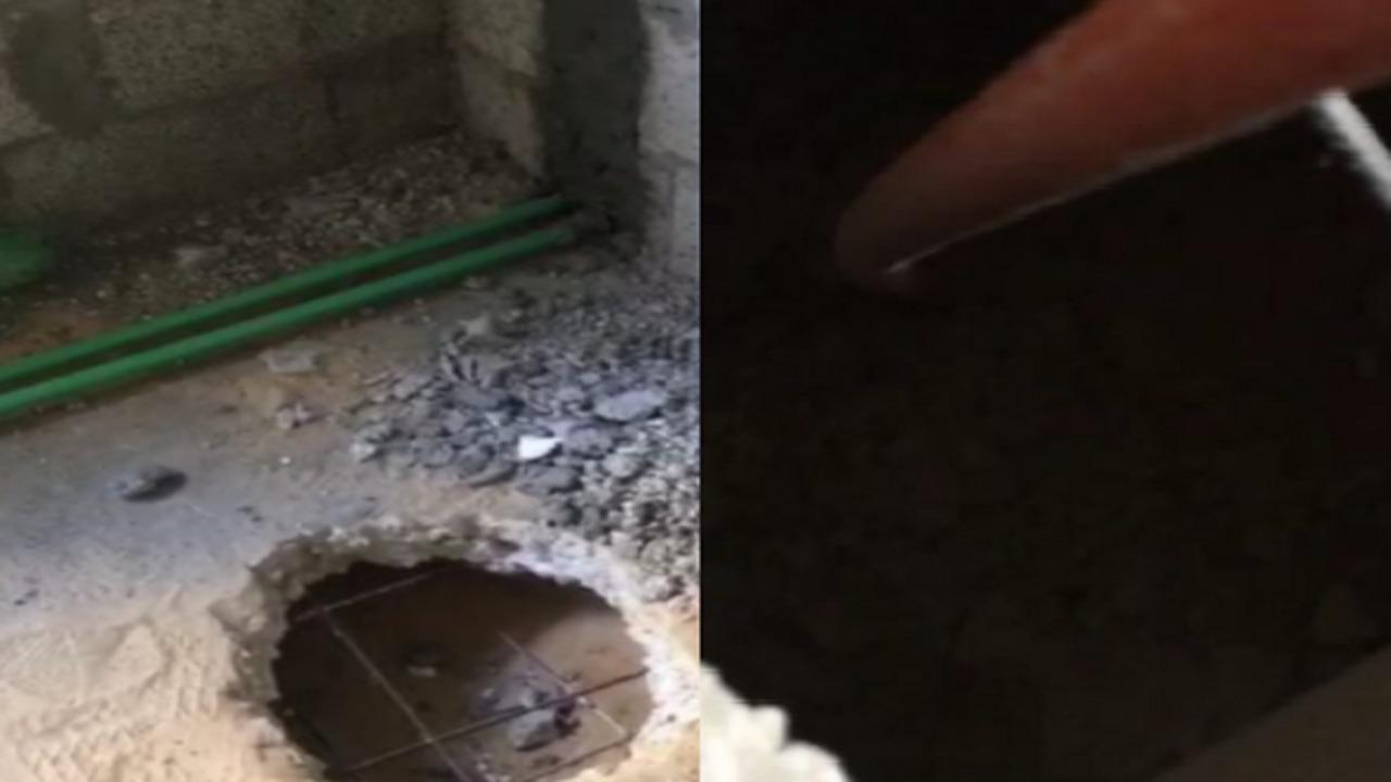 بالفيديو.. مواطن يكتشف خداع مقاول له خلال تأسيس منزله