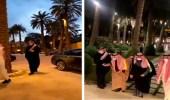 بالفيديو .. استقبال المعزين في وفاة الأمير الراحل مشهور بن مساعد