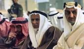 صورة قديمة للملك فيصل مع عمه الأمير عبدالله