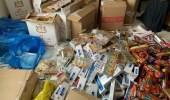 """مصادرة 2 طن """" تنباك """" و17500 علبة دخان في الشرقية"""