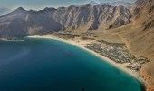 انفجار سفينة في خليج عمان